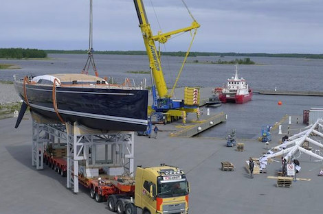 Image for article Nautor's Swan prepares Swan 115S launch