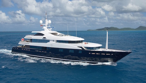 Image for article Burgess sells 60m M/Y 'Cloud 9'