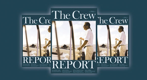 Image for article Latest issue of The Crew Report out now