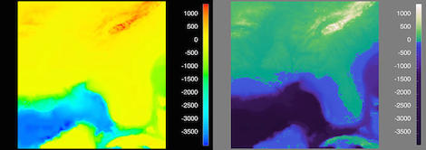 Image for article New colour scale reveals FarSounder images