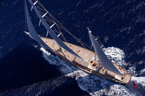 Image for article Royal Huisman releases new images of S/Y 'Elfje'