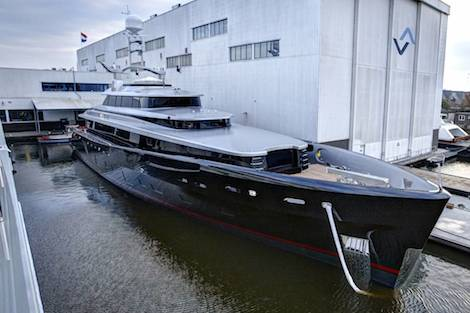 Image for article Feadship trials cleaner fuel