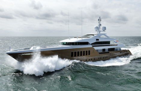 Image for article Heesen delivers 55m fast displacement yacht 'Azamanta'