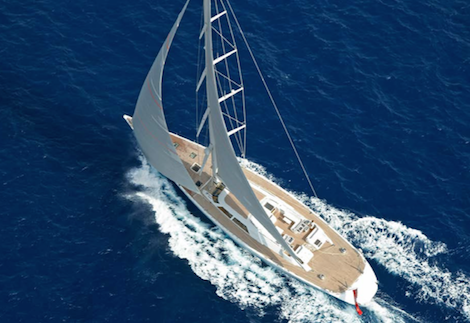 Image for article €1.8 million price cut on Royal Huisman's 'Unfurled'