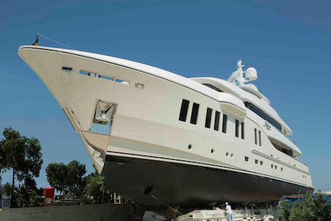 Image for article Alia Yachts launches 41.3m displacement yacht Rüya