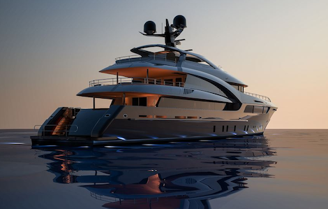Image for article Sarp Yacht ready to complete a 46m project