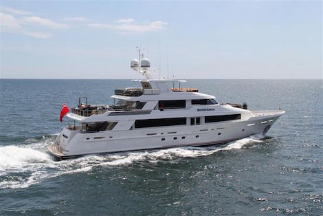 Image for article M/Y 'Book-Ends' sold by Moran Yacht & Ship