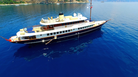 Image for article Bilgin Yachts has delivered  its second 160 classic M/Y 'Clarity'