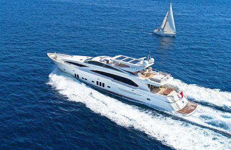 Image for article 36.8m 'Arion' for sale with Denison Superyachts