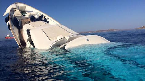 Image for article Superyacht sinks off Mykonos