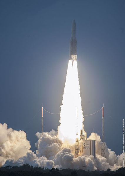 Image for article Intelsat succesfully launches IS 34 satelite