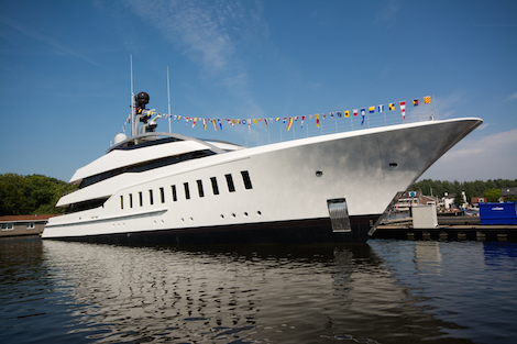 Image for article Feadship launches 57m superyacht 'Halo'