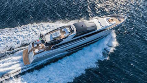 Image for article Riva's 'Sol' for sale with Fraser Yachts