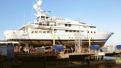 Image for article Burgess Marine to refit Lord Sugar's 'Lady A'