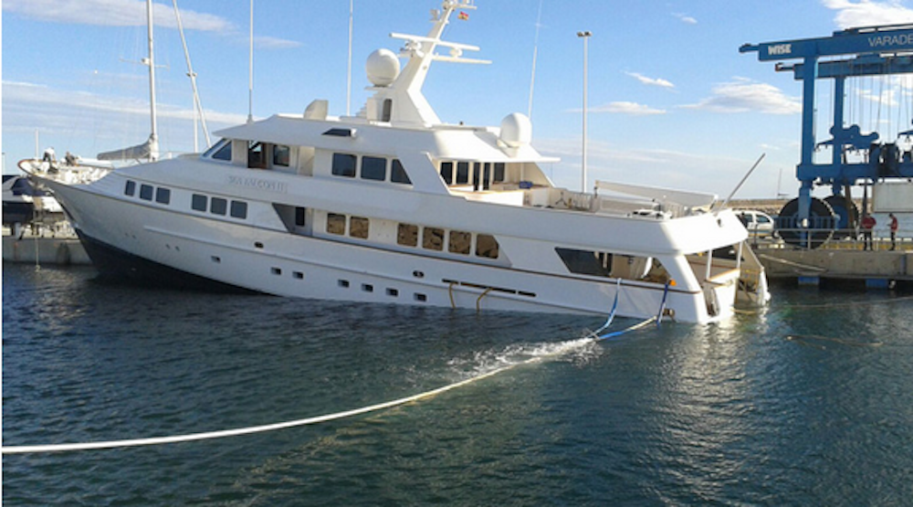 Image for article A bad week for superyacht safety
