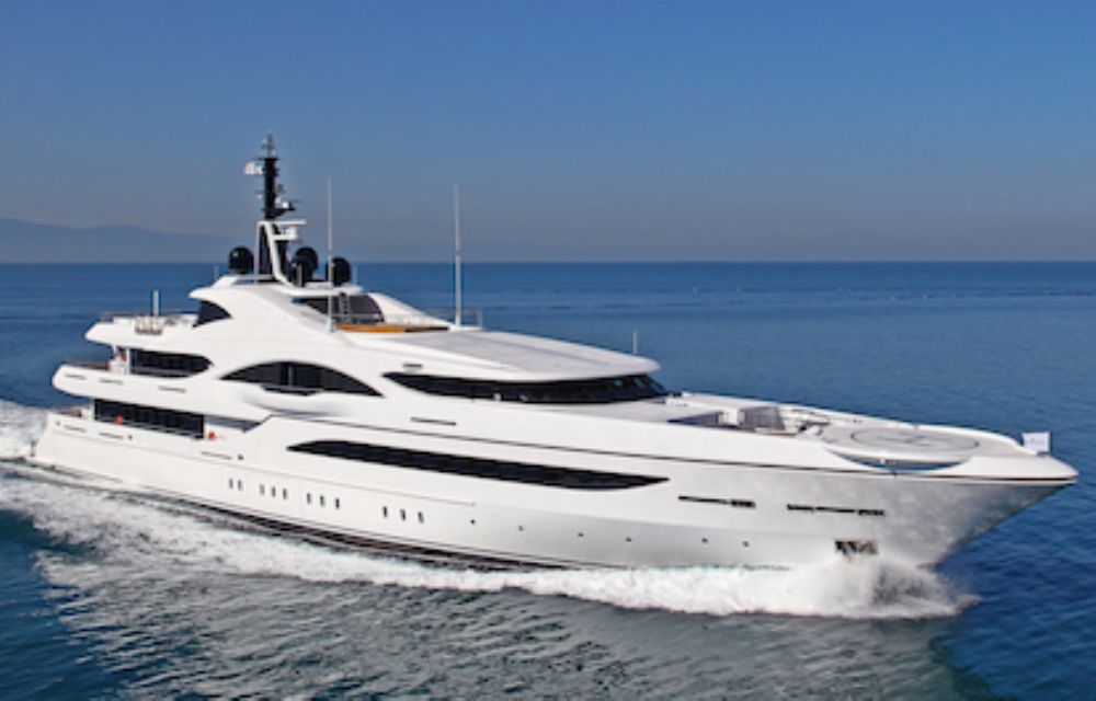 Image for Fraser Yachts lists 72.6m 'Vicky' for sale