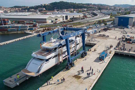 Image for article Wider launches first ever superyacht