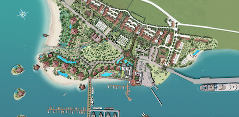 Image for article Construction begins on Golfito Marina Village and Resort