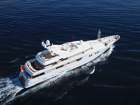 Image for article 50m Amels motoryacht TJ Esperanza sold