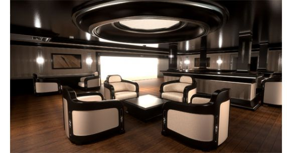 ... specifically members of royalty, the tri-deck boasts a very low profile.