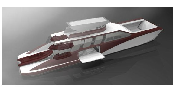 The impetus behind the 34-metre Landing Craft Yacht (LCY) concept from ...
