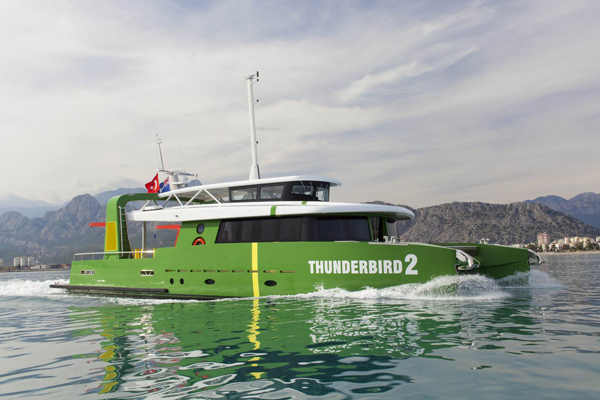 Image for article Thunderbird 2 is launched