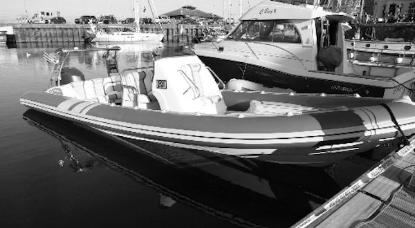 Image for 'Milly' RIB accident report raises design considerations