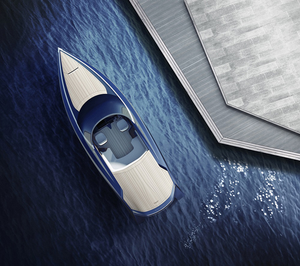 Image for article Aston Martin takes to water