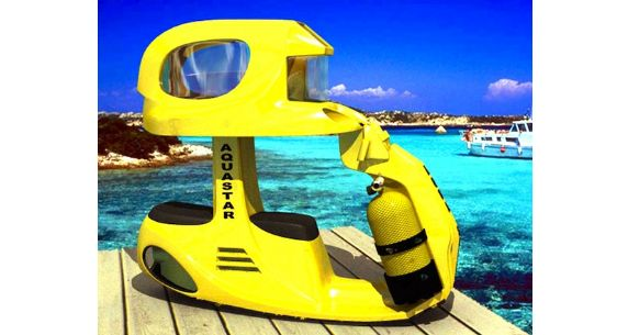 However, Aqua Star Sea scooters have been designed to offer the scuba diving ...
