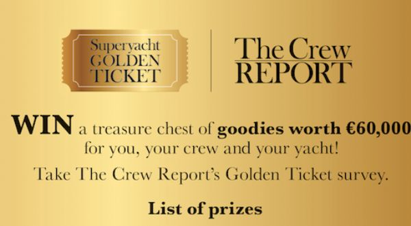 Image for article Superyacht Golden Ticket: donors of the week