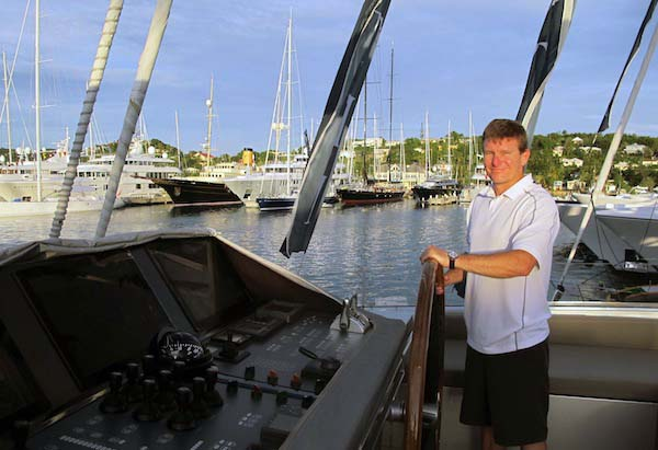 Image for article Antigua interview: Captain Shane Quinlan