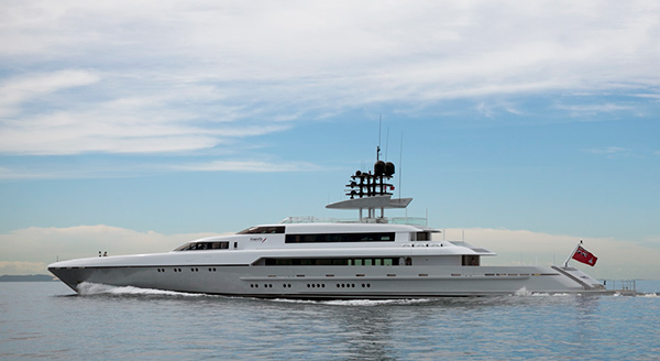 Image for article Superyachts called to help cyclone-hit Vanuatu
