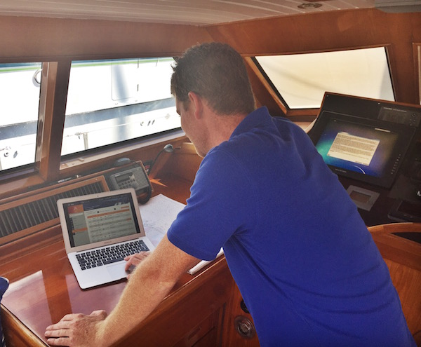 Image for article Sealogical yacht management software