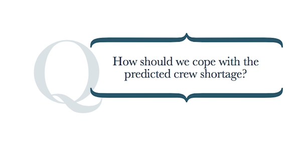 Image for article How should we cope with the crew shortage?