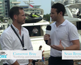 Cameron Bray, Northrop and Johnson with SuperyachtNews.com at the Singapore Yacht Show 2016, Part 2
