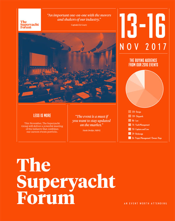 The Superyacht Forum Magazine