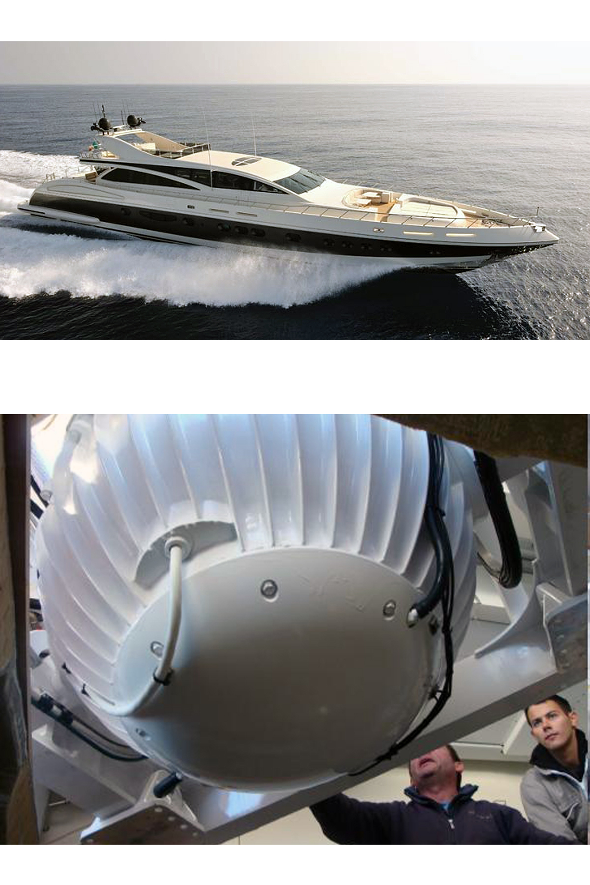 Image for article Seakeeper M21000 Gyro Stabilisers installed onboard Makira