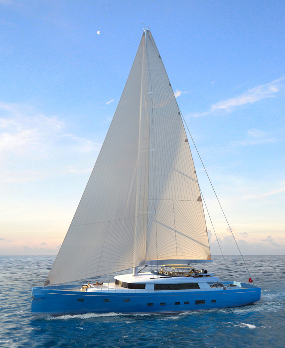 Image for article Ginton's 40-metre sailing yacht