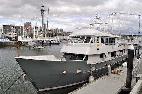 SuperyachtNews com - Fleet - Fitzroy Yachts convert MV Kahu