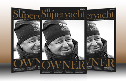 Image for article Maverick owners feature in The Superyacht Owner Issue Five