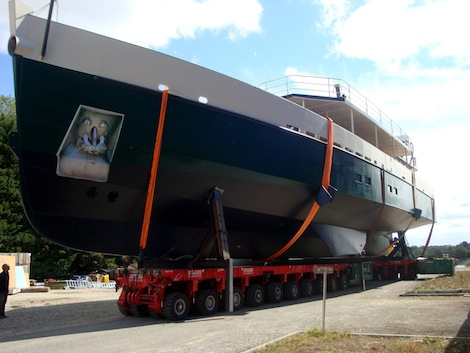 Image for article Alu Marine launch S/Y 'Cosmoledo'