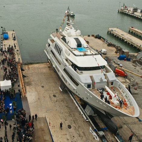 Image for article CRN launches 60m superyacht 'J'Ade'