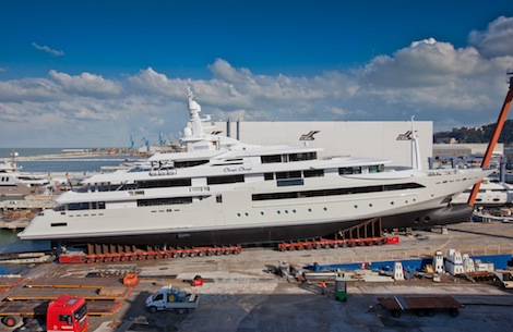 Image for article CRN set to launch its largest ever superyacht