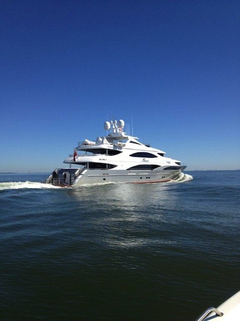 Image for article Trinity delivers 50m superyacht 'Tsumat' to owner