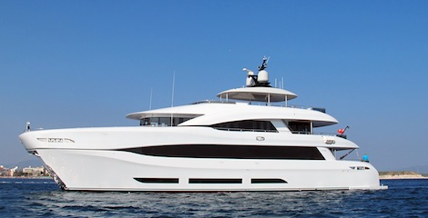 Image for article First shots of newly delivered 'Quaranta'