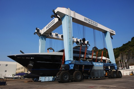 Image for article Mondomarine launch 41m M/Y 'Nameless'