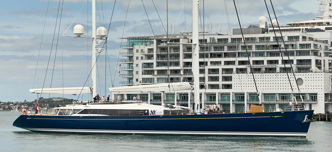 Image for article Alloy Yachts launch 56.4m Mondango Three