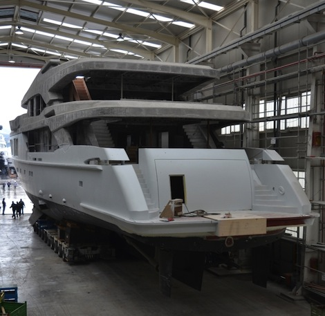Image for article M54 hull and superstructure complete and on the market