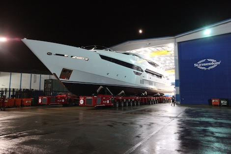 Image for article Sunseeker prepares to launch new flagship Sunseeker 155