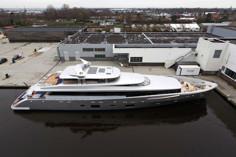 Image for article Superyacht Fleet Overview and Launches: January 2014